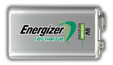 Energizer® Recharge Power Plus - 9V