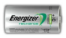 Energizer<sup>®</sup> Recharge Power Plus - C