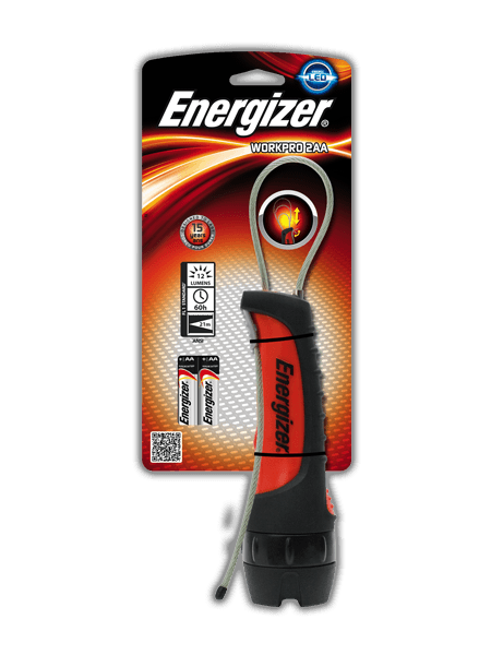 Energizer<sup>®</sup> WorkPro 2AA