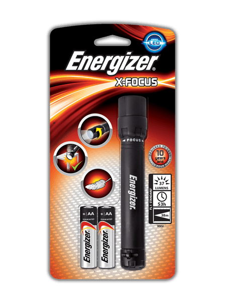 Energizer<sup>®</sup> X-Focus 2AA