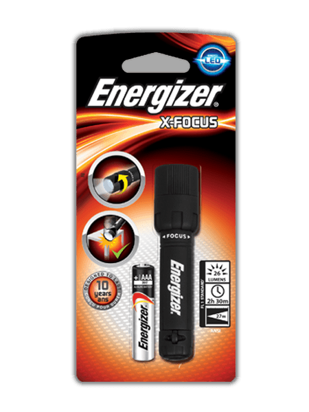 Energizer<sup>&reg;</sup> X-Focus AAA