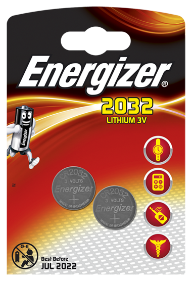 Energizer® Baterie do elektroniky – CR2032