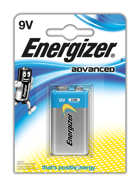 Energizer<sup>®</sup> Advanced – 9V