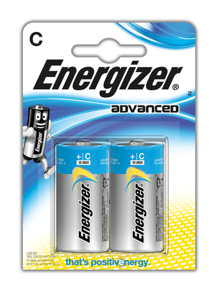 Piles Energizer<sup>®</sup> Advanced – C