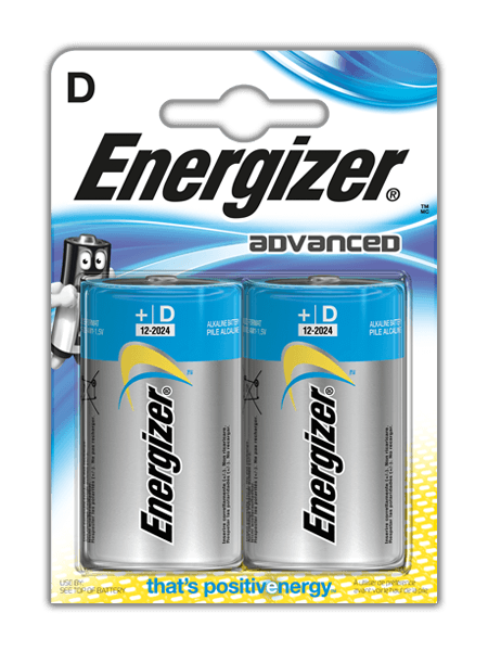 Energizer® Advanced Batterien – D