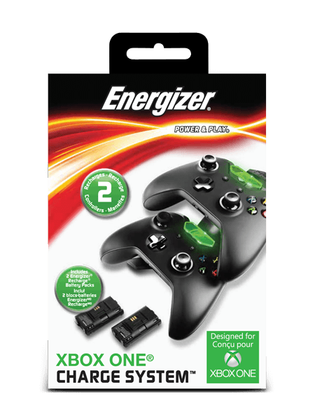 Energizer<sup>&reg;</sup> Gaming Chargers