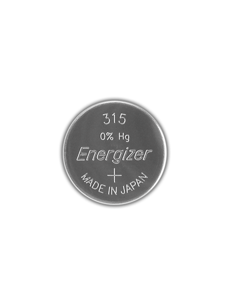 Energizer watch batteries 315 eu for Watches battery