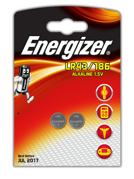 Energizer® Electronic Batteries – LR43/186
