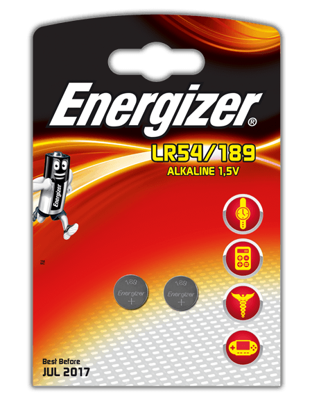 Energizer® Electronic Batteries – LR54/189