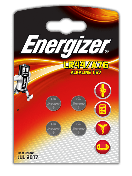 Energizer® Electronic Batteries – LR44/A76