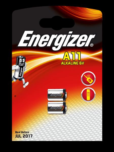 Energizer® Батарейки для электронных устройств – A11/E11A