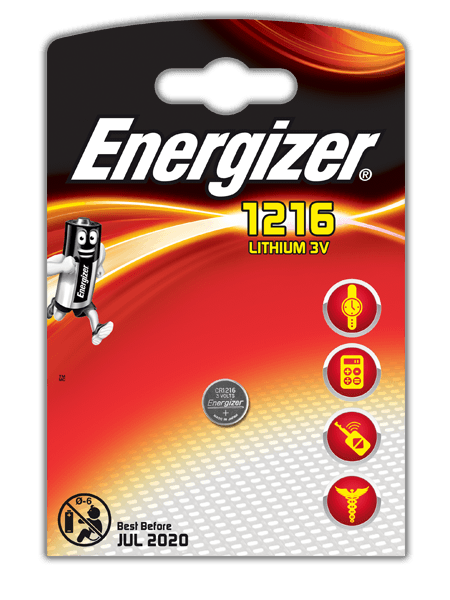Energizer® Baterie do elektroniky – CR1216