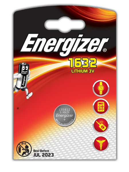Energizer<sup>&reg;</sup> Electronic Batteries &#8211; CR1632