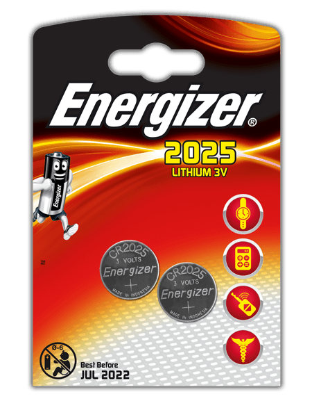 Energizer<sup>&reg;</sup> Electronic Batteries &#8211; CR2025