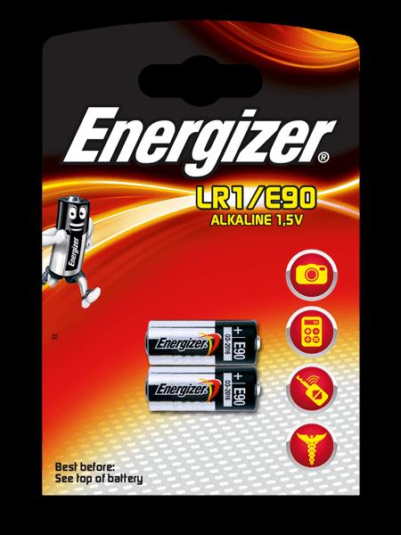 Energizer® Μπαταρίες ηλεκτρονικών συσκευών – LR1/E90