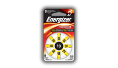 Energizer<sup>&reg;</sup> Hearing Aid Batteries - 10