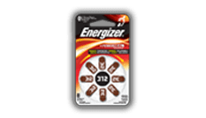 Energizer<sup>&reg;</sup> Hearing Aid Batteries - 312