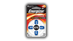 Energizer® Hearing Aid Batteries - 675