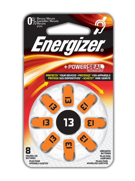 Energizer® Hearing Aid Batteries – 13