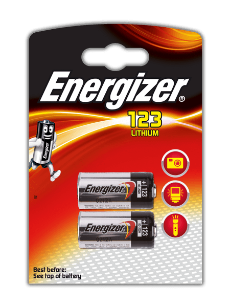 Energizer® Photo Lithium Batteries – 123