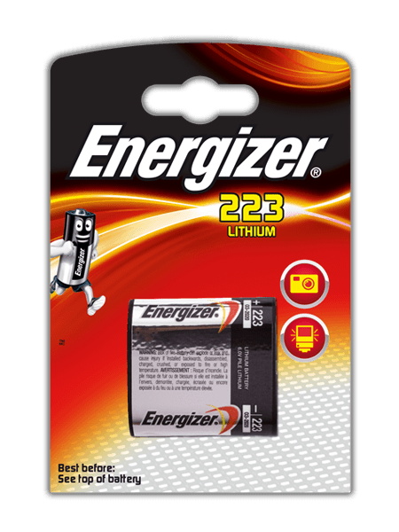Energizer® Photo Lithium Batteries – 223