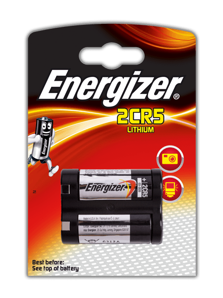 Energizer<sup>&reg;</sup> Photo Lithium Batteries &#8211; 2CR5