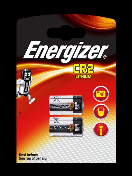 Energizer® Μπαταρίες φωτογραφικών μηχανών – CR2